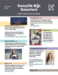 Gençlik Ağı Gazetesi, Sayı 1 - Ocak 2021